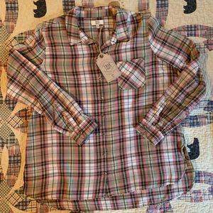 NWT - True Craft flannel shirt